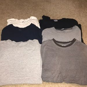 Other - Lot 6 of men's T shirt